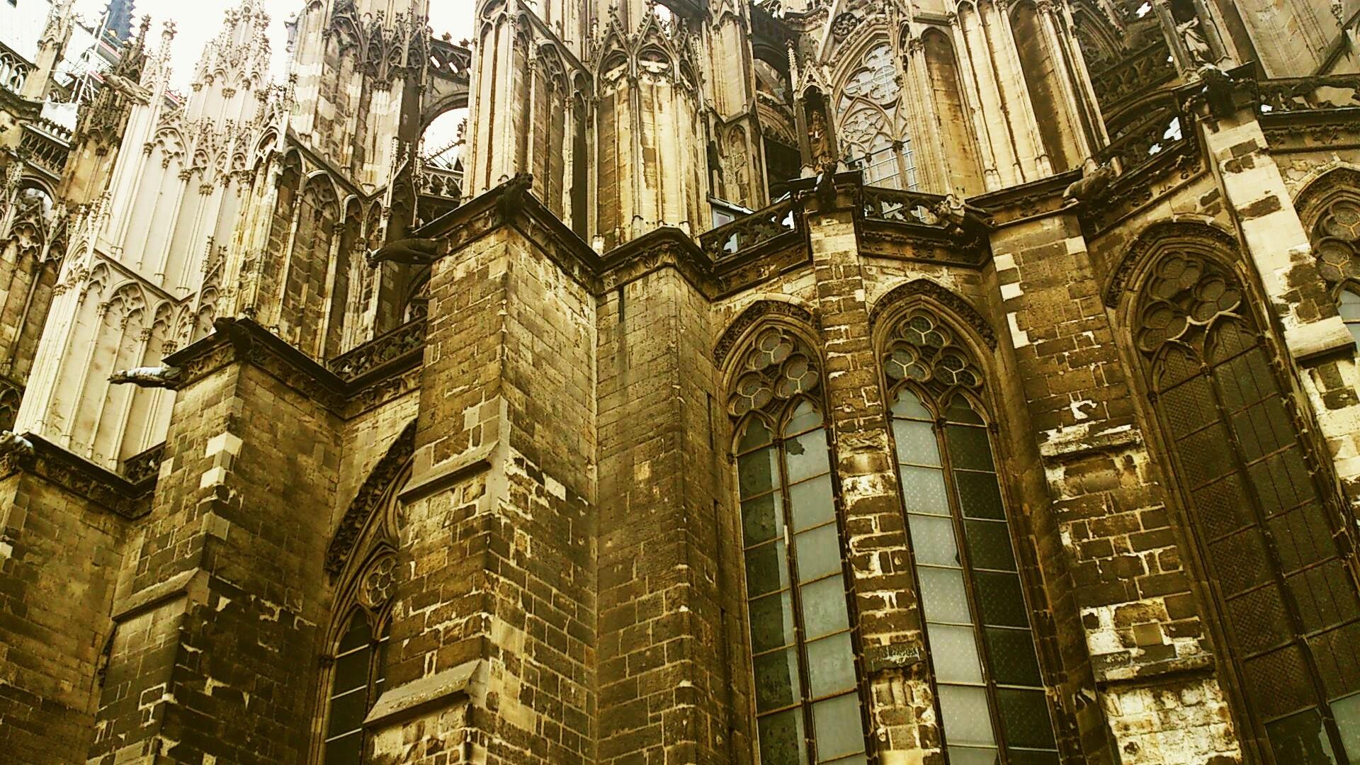 Ściana boczna katedry