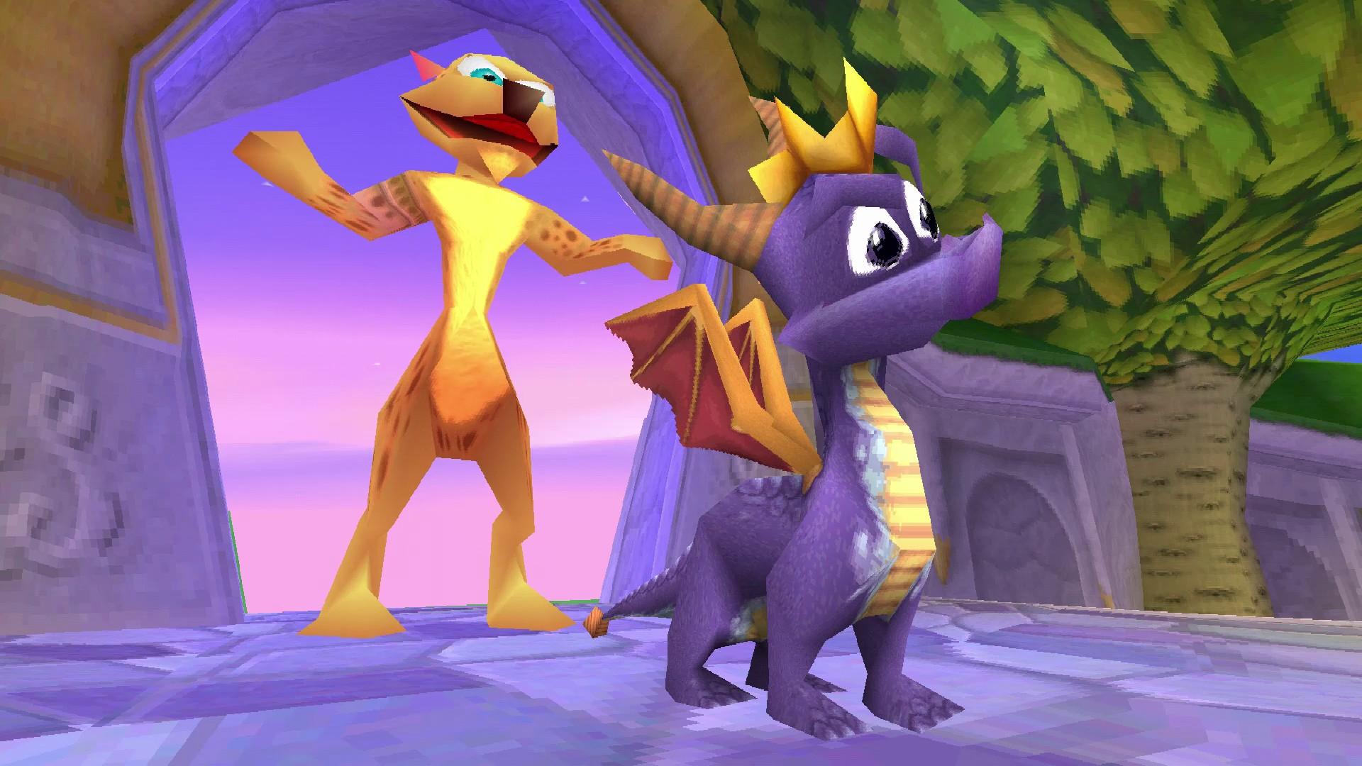 Spyro Reignited Trilogy: Classic cutscenes