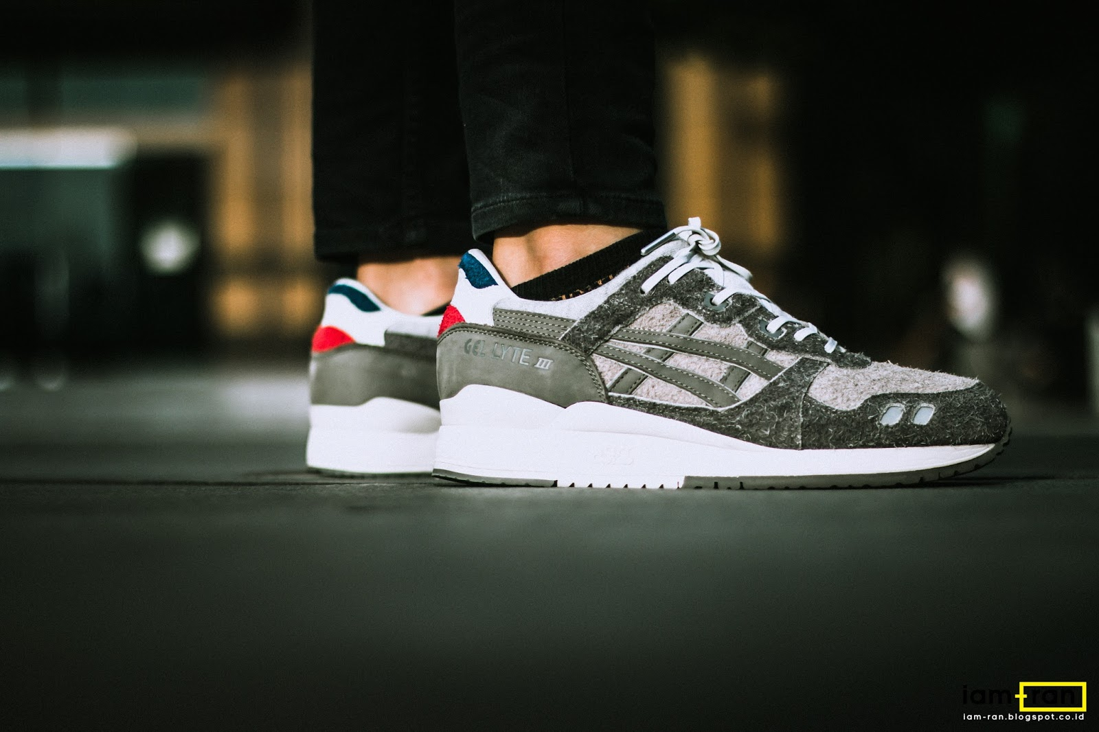 IAM-RAN  ON FEET   Derry - Asics Gel Lyte III Invincible