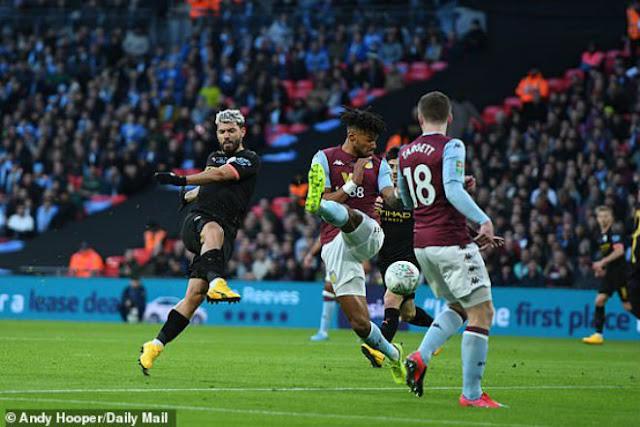 Video Aston Villa 1-2 Man City: Tấn công rực lửa, hú vía đăng quang (Chung kết cúp Liên đoàn Anh)