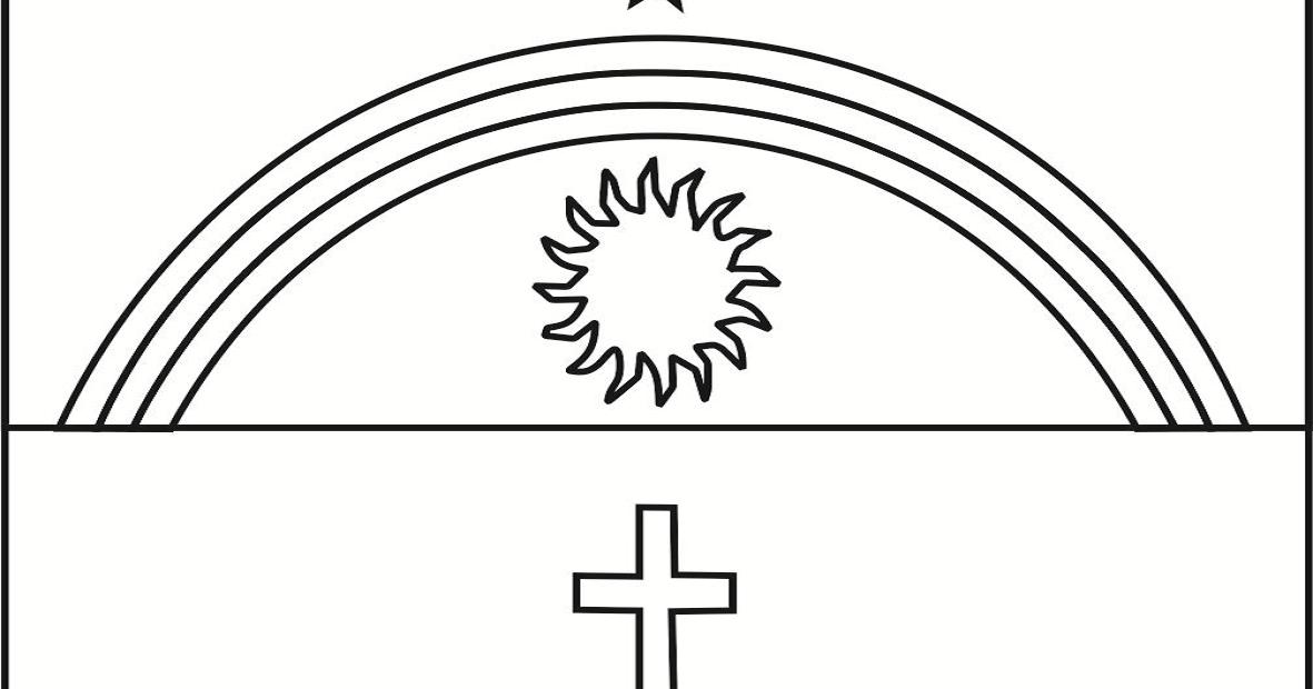 Bandeira Do Estado Brasileiro De Pernambuco Para Colorir
