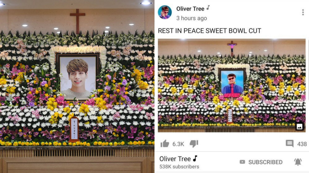 An American Singer Criticized for Using SHINee's Jonghyun Funeral Photo for Promotion