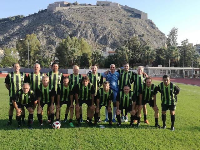 Με Προοδευτική ξεκινούν τα φιλικά για την ομάδα  FC Celebrities Nafplio
