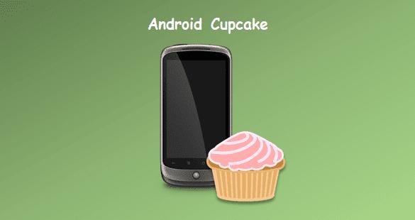tingkatan versi android cupcake dari awal hingga terbaru