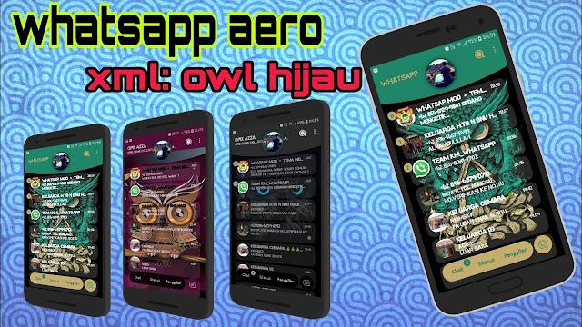 Download Theme WhatsApp Aero New Version