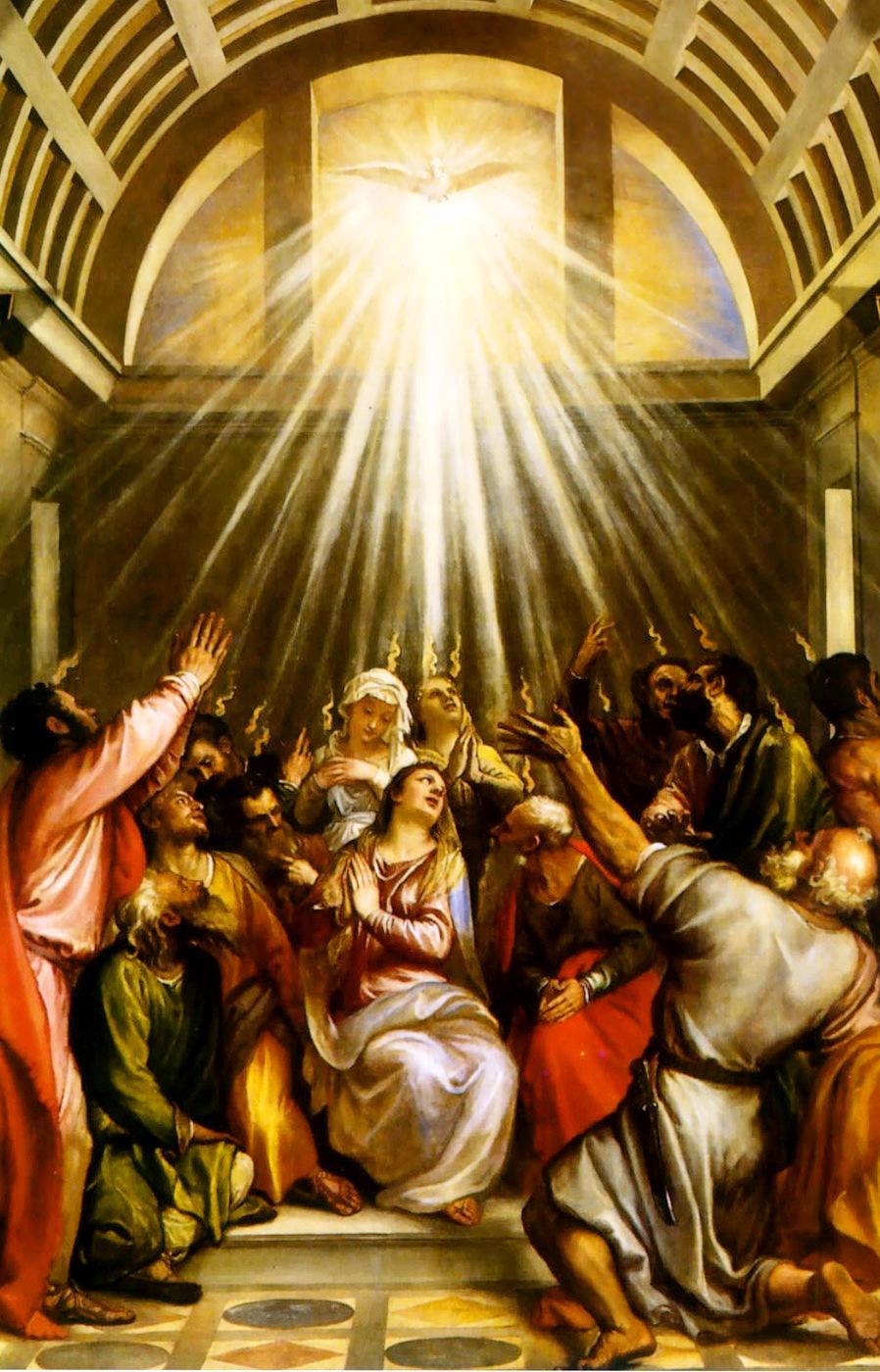 天主慈悲的花果‧Jezu Ufam Tobie: 偕同聖母求聖神