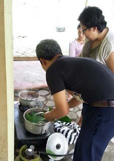 proses batik alami