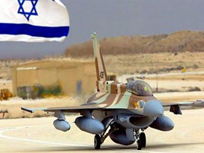 Pesawat Tempur Israel Serang Militer Hamas