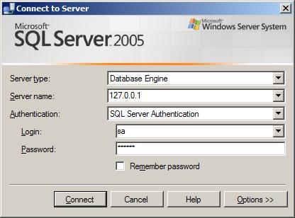 Program Koneksi Database SQL Server dengan SQLOLEDB