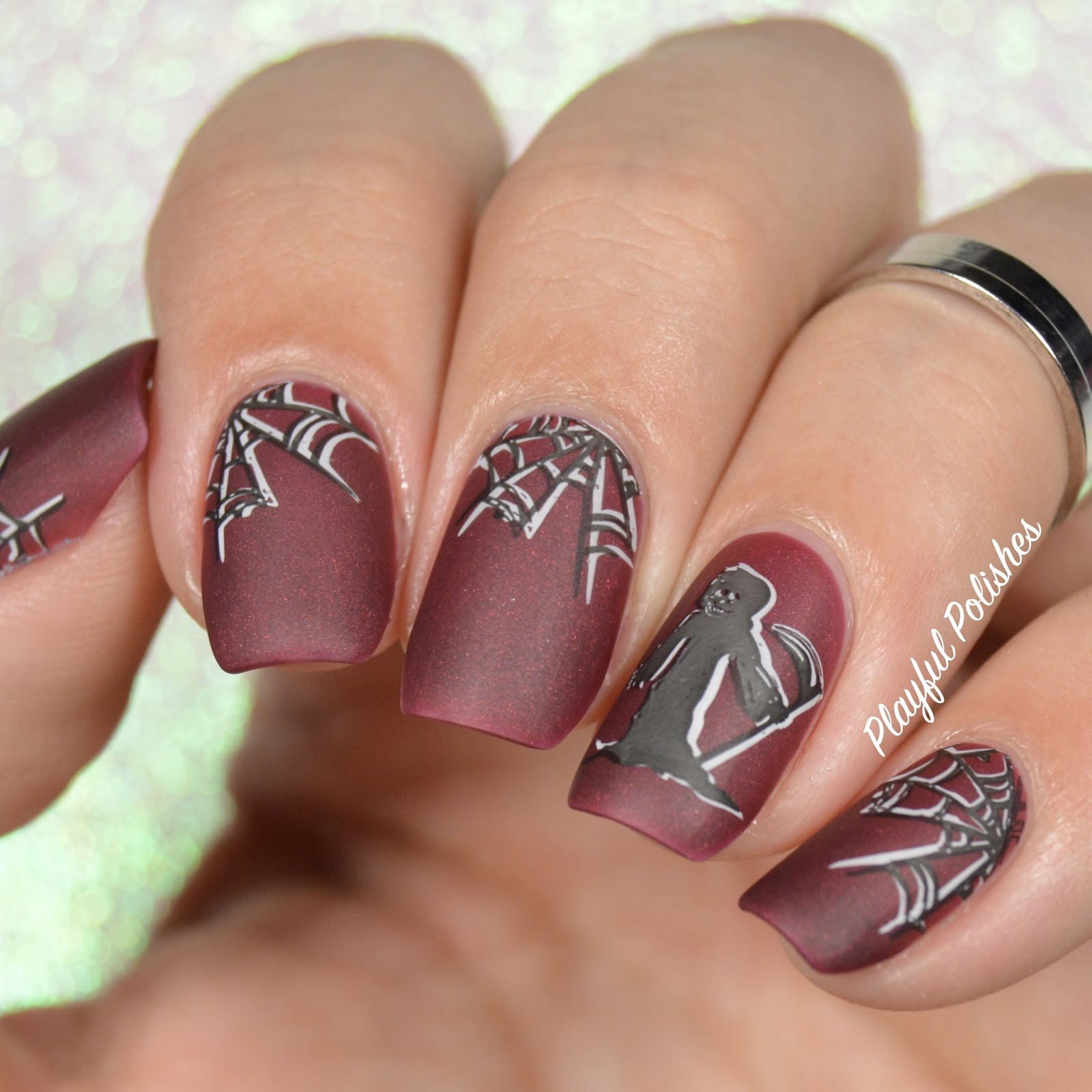 Playful Polishes: CUTE HALLOWEEN NAILS