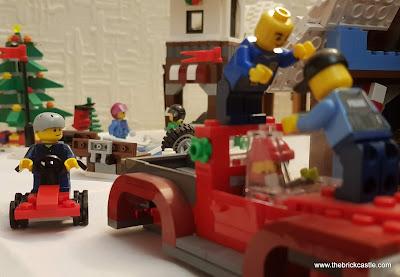 LEGO Winter Village car repairs