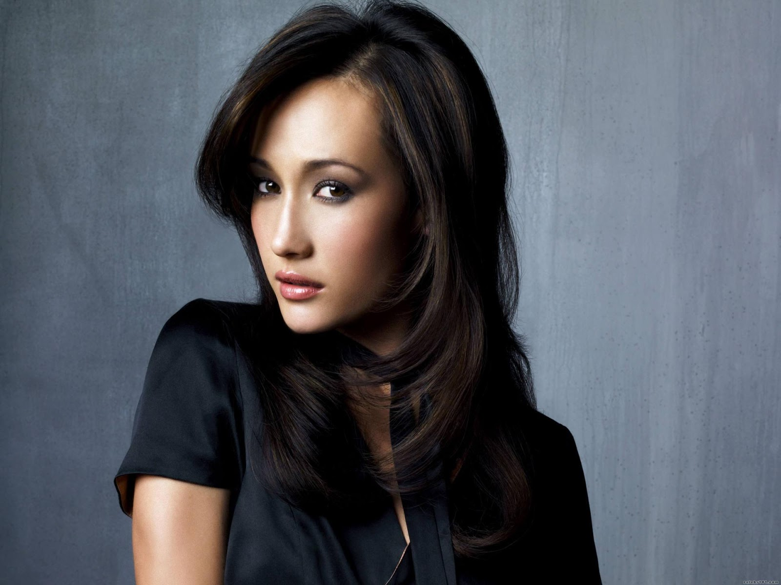 Maggie Q Hairstyle: Most Beautiful Places In The World