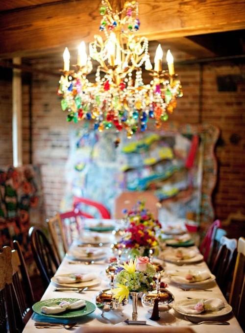 Bohemian Style Dining Rooms: Bandanamom: New Trend