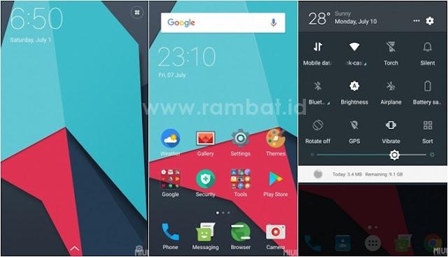 Tema Xiaomi MIUI 8 / MIUI 9 Terbaik dan Populer - Lineage
