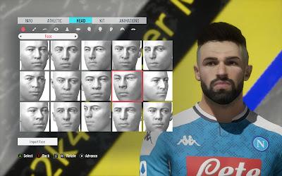 FIFA 20 Faces Elseid Hysaj by Eslam