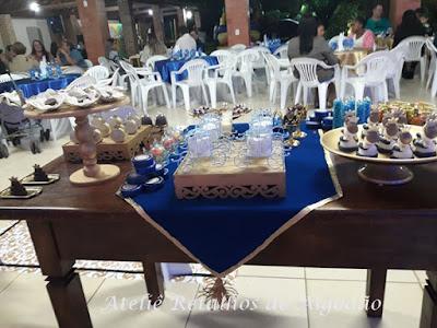 Decoração de festa de aniversário reinado para crianças