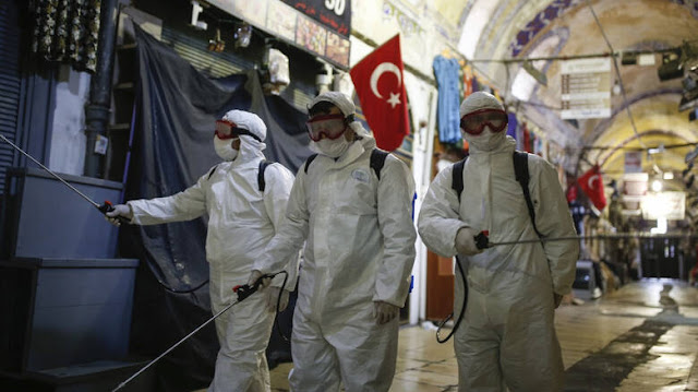 Κορωνοϊός: 15 νεκροί σε ένα 24ωρο στην Τουρκία - 2.433 τα κρούσματα
