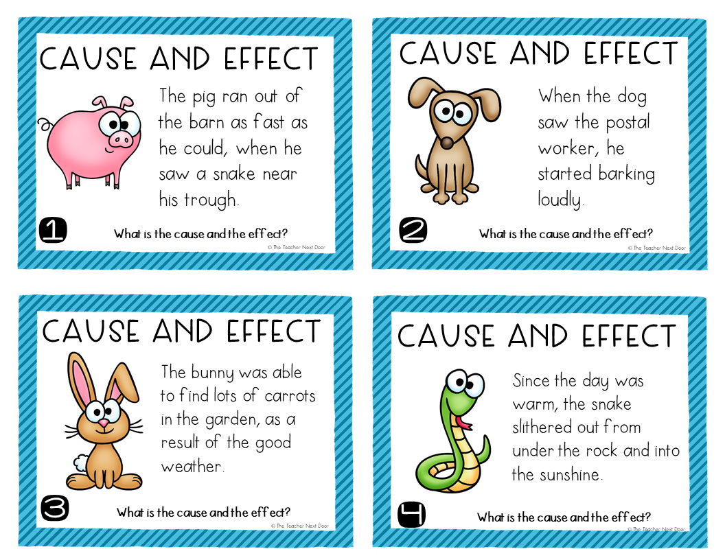 Esl Cause And Effect Worksheets
