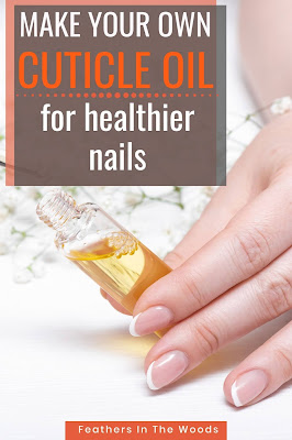 Pretty nails and cuticle oil with recipe