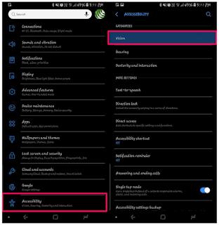 Cara Mengaktifkan / Mematikan TalkBack Di Android