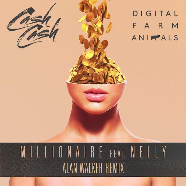Digital Farm Animals - Millionaire (feat. Nelly) [Alan Walker Remix] - Single Cover