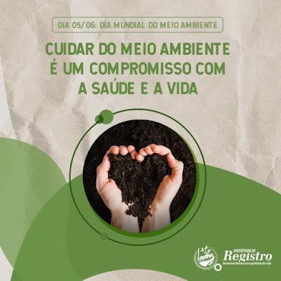 Dia 05/06 Dia Mundial do Meio Ambiente