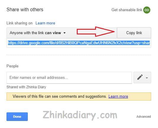 Cara Membuka Link Google Drive Kami