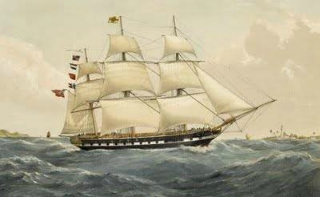 painting-of-a-sailing-ship-on-the-ocean