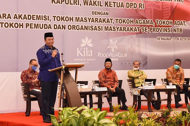 Lima Pimpinan Institusi Negara Gelar Silaturahim, Warga Minta Pilkada Tidak Ditunda Lagi