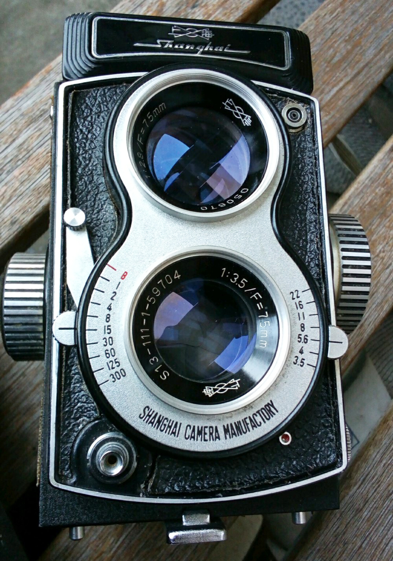 Kamera TLR (Twin Lens Reflex) jaudl dan handar