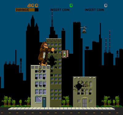 Descarga Rom rampage.zip Bally Midway Arcade MAME