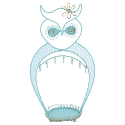 Shop for the Metal Owl Jewelry Display and Jewelry Stand Hanger Organizer at Nile Corp
