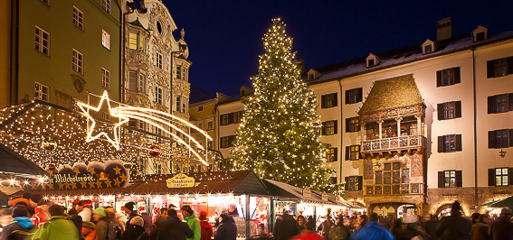 Navidad en Innsbruck. 4 Destinos para viajar en Navidad