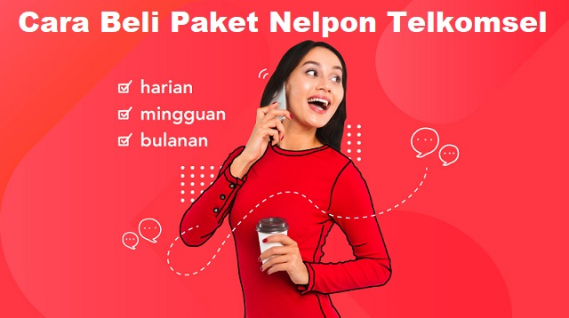 Cara Beli Paket Nelpon Telkomsel
