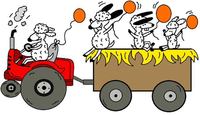 Church House Collection Blog: Harvest Festival Hay Ride ...