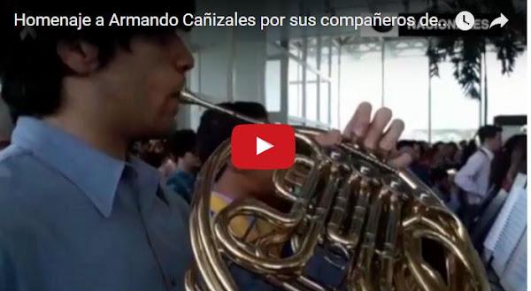 Orquesta Sinfónica rindió homenaje a Armando Cañizales en el Cementerio del Este