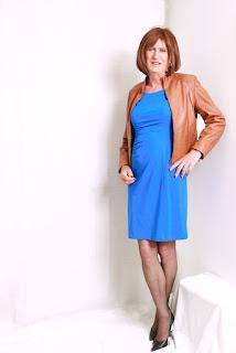 Kombinasi Baju Warna Biru