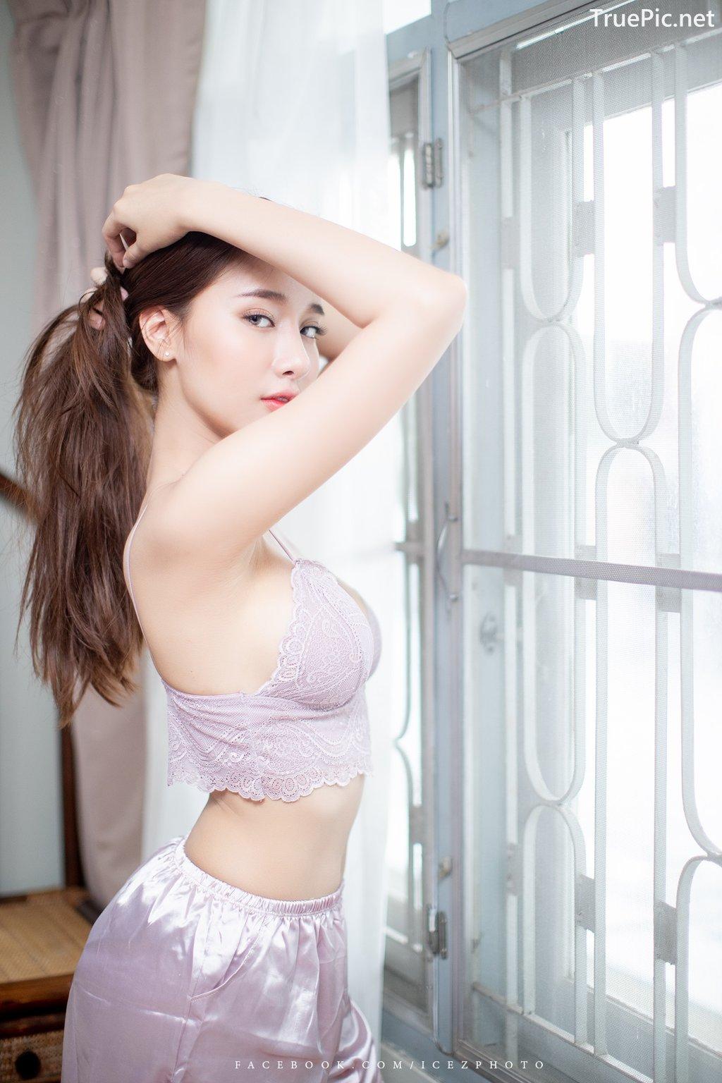 Image-Thailand-Hot-Model-Pichana-Yoosuk-Sexy-Purple-Bra-Shiny-Short-Pants-TruePic.net- Picture-8