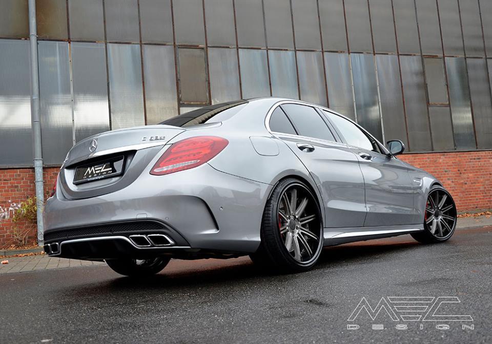 Mercedes AMG W205 C63 S By MEC Design BENZTUNING