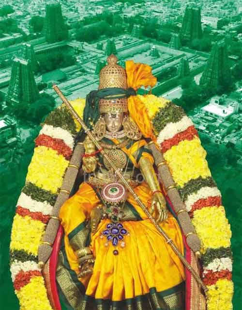 Chariot Festival At Madurai Meenakshi Temple
