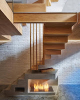 Ideas para ahorrar espacio debajo de la escalera estufa