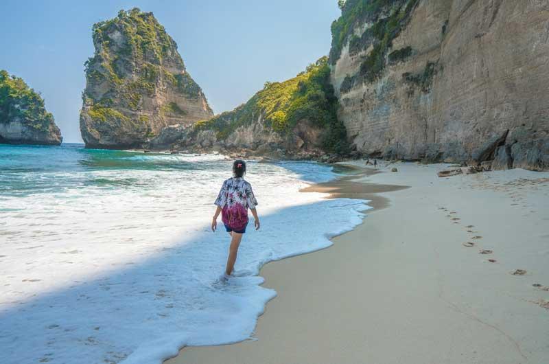 Fasilitas Wisata Diamond Beach Bali