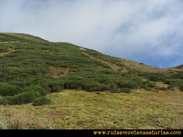 Ruta Pico Cellón, llegando a Entrambospuertos