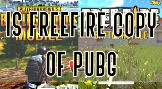Is freefire copy of pubg