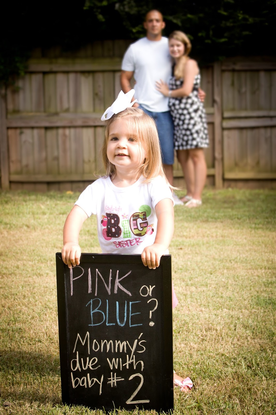Pin on The Baby Board |Second Baby Announcement