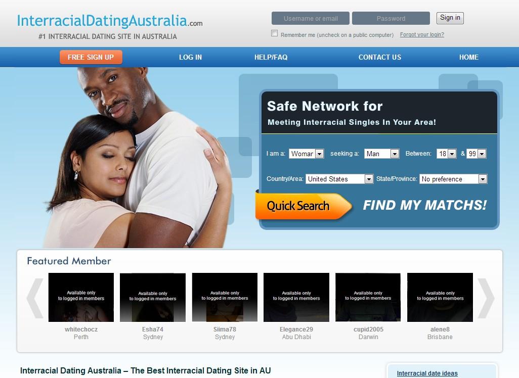 Dating Sites for Interracial singler