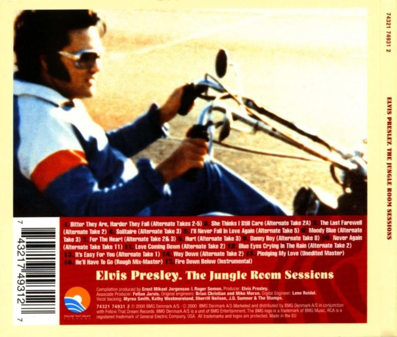 ELVIS FTD CD`s: The Jungle Room Sessions (Flac & MP3) FTD