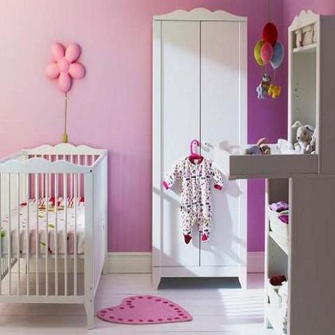 pin peinture chambre bebe on pinterest. Black Bedroom Furniture Sets. Home Design Ideas