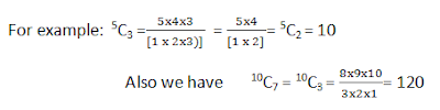 Permutations and Combinations Example