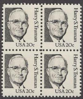 Truman block of 4